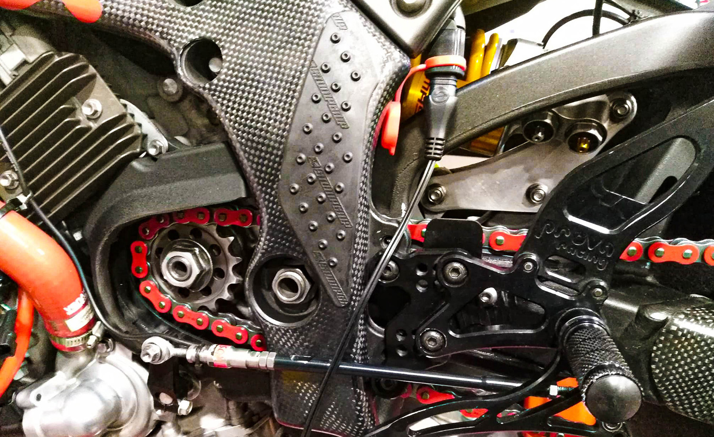 Preparación de motos para circuito - Quick Shift